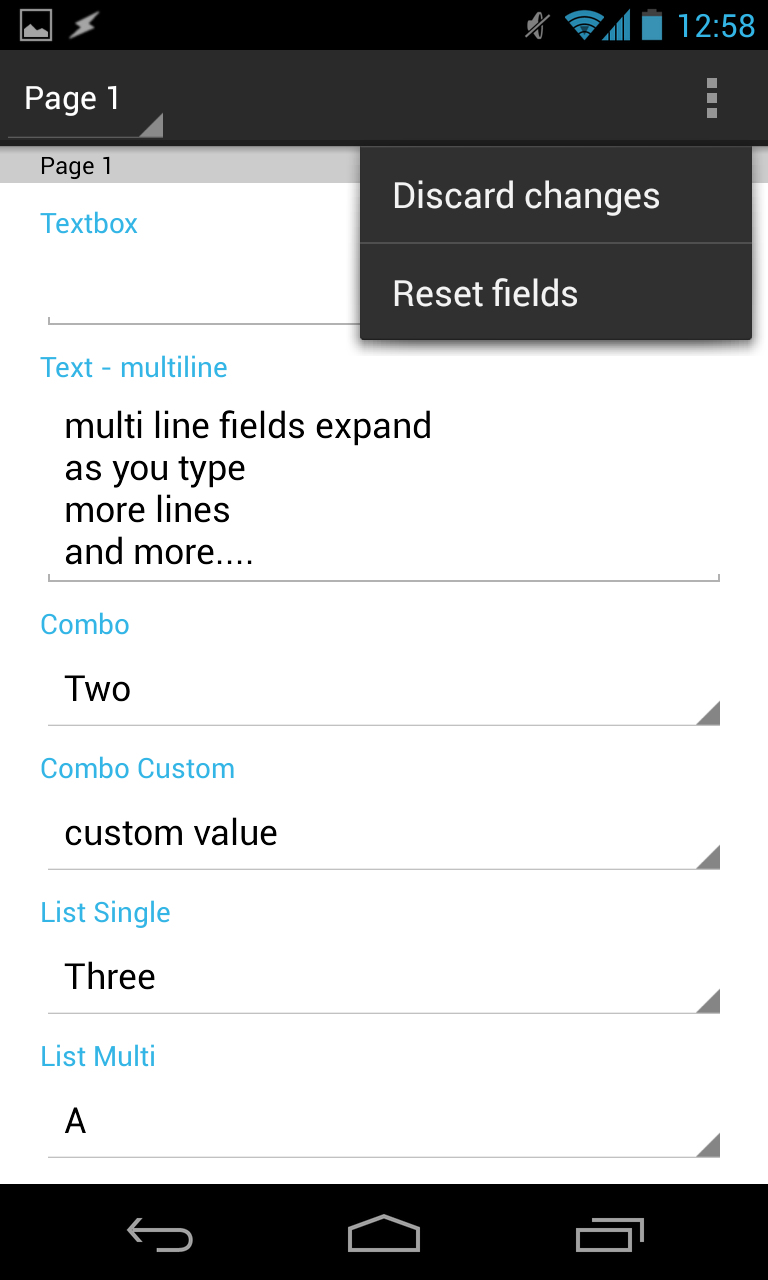 qPDF Notes - Android PDF App to Annotate, Review, Fill Forms