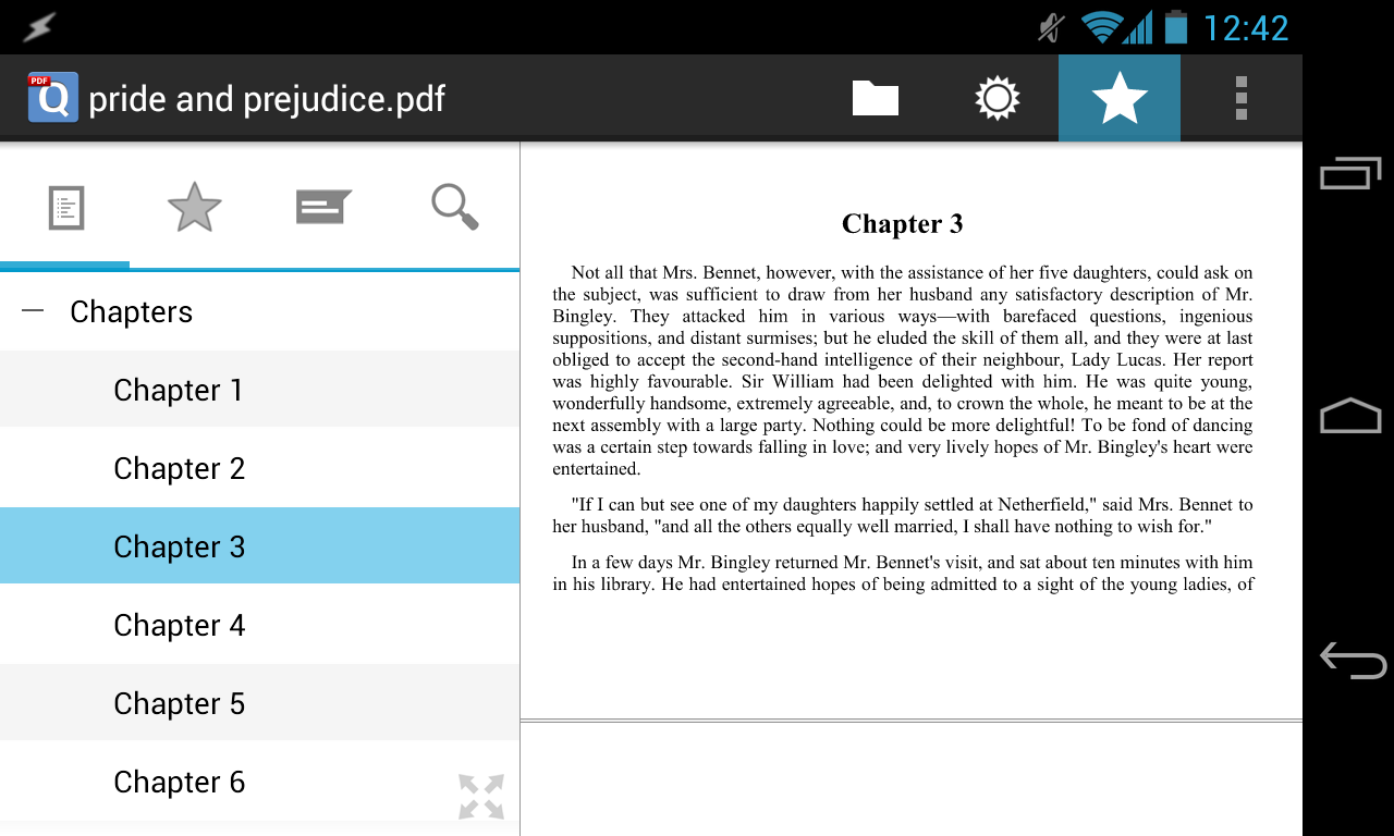 qPDF Viewer - Android PDF Reader with Text Reflow
