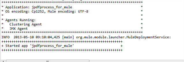 PDF Processing API with Mule ESB and Mulesoft Anypoint