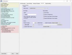 PDF Automation Server - Print PDF Job